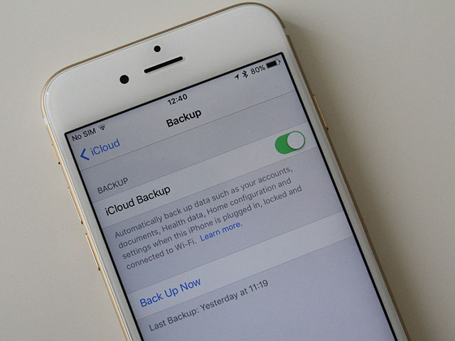 Cách sao lưu và khôi phục iPhone bằng iCloud
