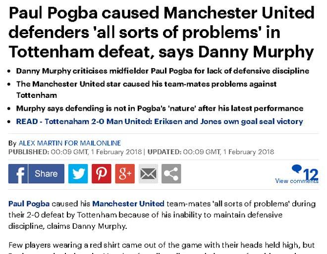 """MU thua, báo chí cười nhạo Mourinho, nghi Sanchez là """"gian tế"""" 2"""