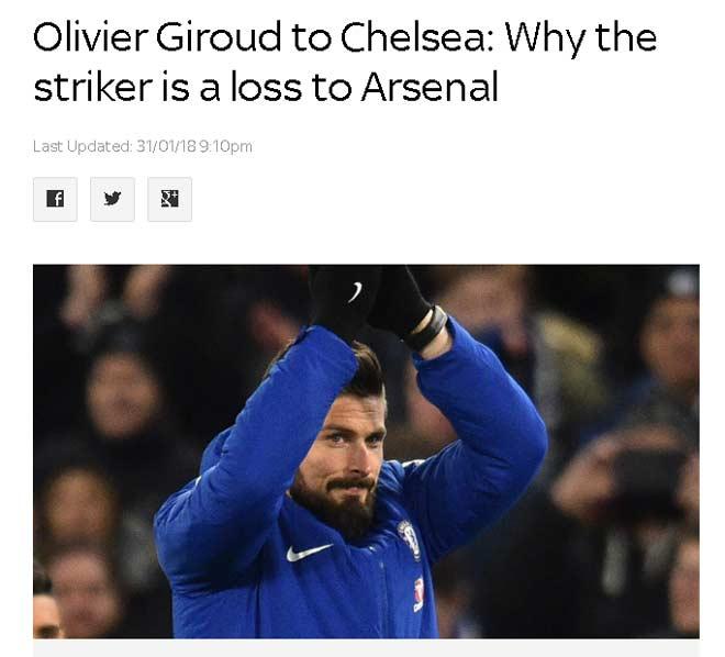 Chelsea gây sốc Giroud 18 triệu bảng: Triệu fan mơ đá bọ cạp hạ Messi – Barca 1