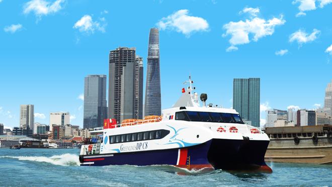 Chính thức vận hành tuyến vận tải hành khách bằng tàu thủy cao tốc TP.HCM - Vũng Tàu – Cần Giờ