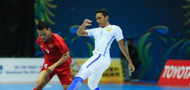 ĐT futsal Việt Nam và ĐT futsal Malaysia ngày ra quân giải châu Á 2018