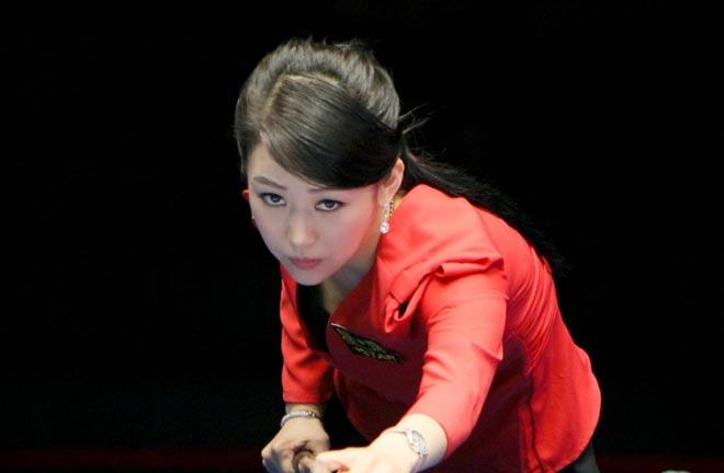 Nữ thần bi-a Trung Quốc: Người đẹp, đi cơ cũng đẹp 1
