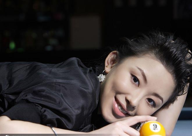 Nữ thần bi-a Trung Quốc: Người đẹp, đi cơ cũng đẹp 2