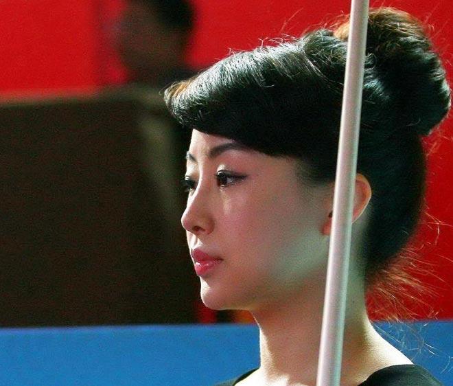 Nữ thần bi-a Trung Quốc: Người đẹp, đi cơ cũng đẹp 5