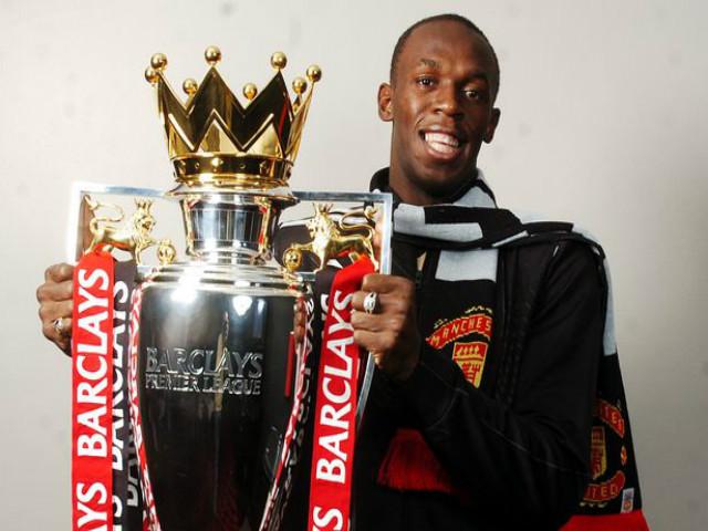 Usain Bolt ký hợp đồng đá bóng: Đến Ngoại hạng Anh đấu MU? 2
