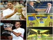 Thể thao - Federer, ngày Vua trỗi dậy: Zidane vẫn là cầu thủ, U.Bolt chưa ra ánh sáng