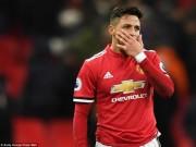 Bóng đá - Sanchez ra mắt MU: Cả trận dứt điểm 1 lần, thảm họa siêu sao