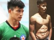 Làm đẹp - Thủ môn 6 múi SHB Đà Nẵng tiết lộ thực tế tập hình thể của cầu thủ