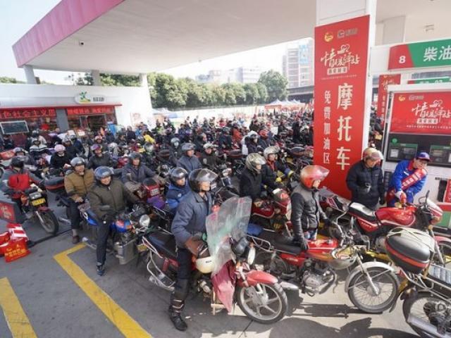 Cuộc trường chinh của 3 triệu xe máy TQ về ăn Tết