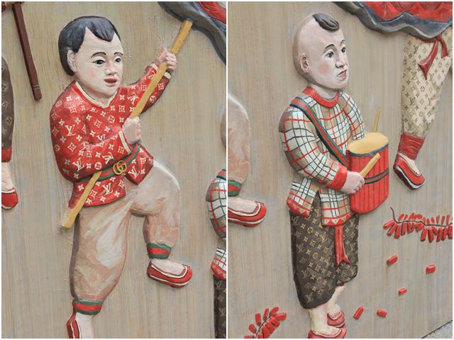 Cậu bé dân gian Việt diện đồ hiệu xa xỉ LV, Gucci khiến người dân thích thú