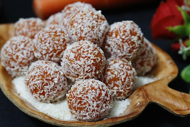 Mứt cà rốt bọc dừa xinh yêu ngọt ngào mọi người đều thích - 8