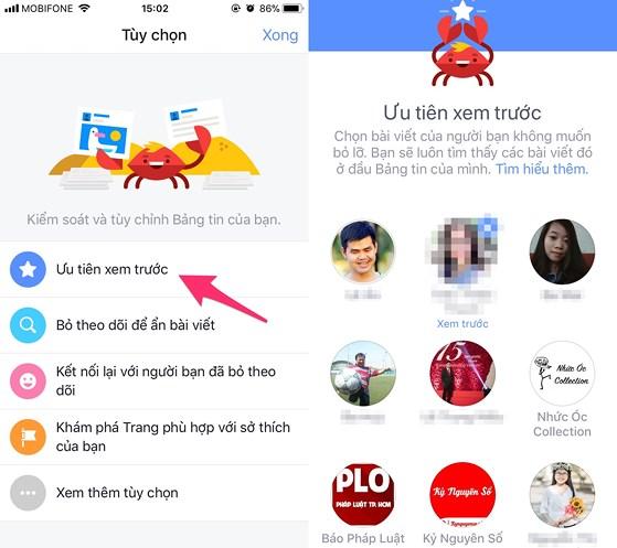 Cách ưu tiên bài viết yêu thích trên Facebook - 3