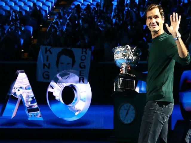"""Lập kỉ lục ấn tượng, Federer bắt tỷ phú mệt phờ râu, phải """"móc ví"""" 2"""