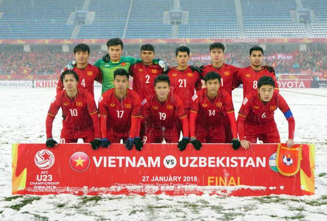 U23 VN: Công Phượng khoe kỹ năng độc, Duy Mạnh khiến Văn Hậu ngượng chín - ảnh 1