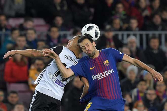 Barcelona 1-0 Valencia(lượt đi bán kết Cúp Nhà vua TBN 2017/18)