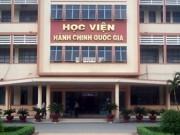 Giáo dục - du học - Học viện Hành chính Quốc gia chỉ đào tạo thạc sĩ, tiến sĩ