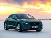 Tin tức ô tô - Jaguar I-Pace vận hành ở địa hình băng tuyết