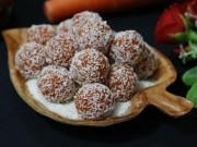 Ẩm thực - Mứt cà rốt bọc dừa xinh yêu ngọt ngào mọi người đều thích