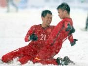 """Bóng đá - """"Cầu vồng tuyết"""" Quang Hải thắng áp đảo """"bàn thắng đẹp nhất U23 châu Á"""""""
