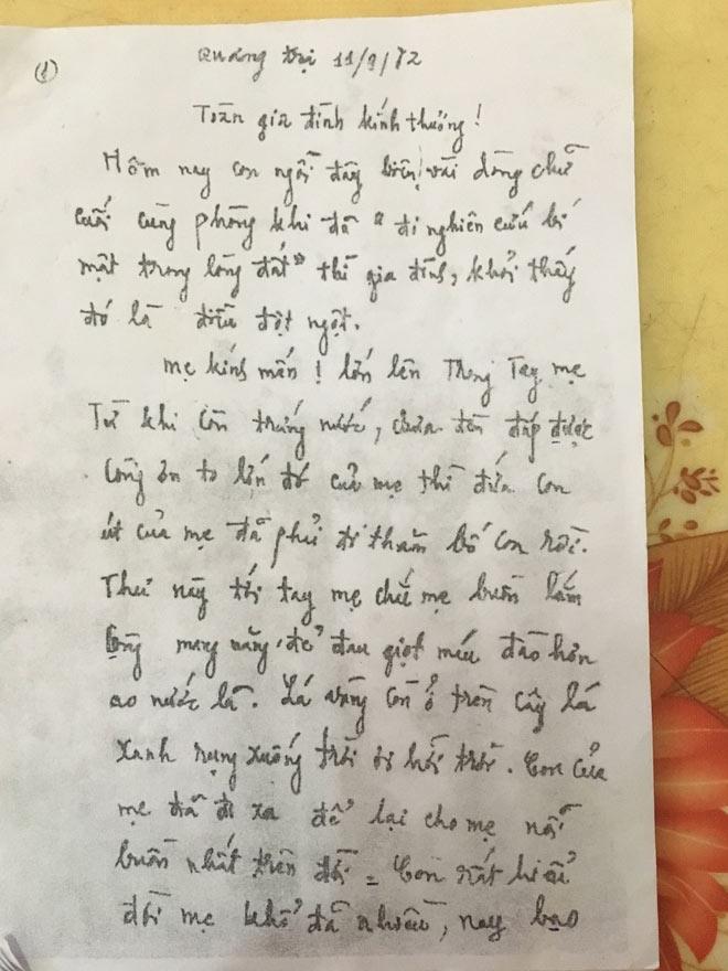 Bức thư kỳ lạ của một liệt sĩ - 3