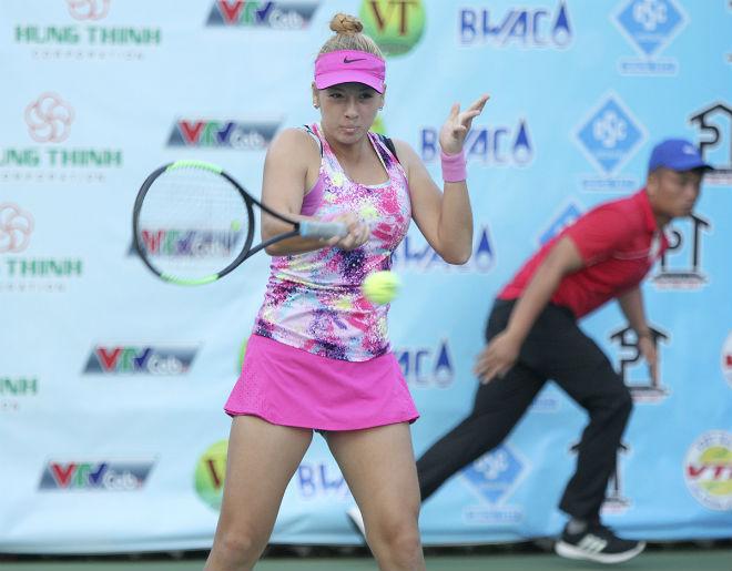 Người đẹp tennis Việt kiều khát khao giành vàng SEA Games cho tuyển Việt Nam 4