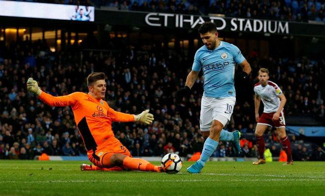 """Burnley – Man City: """"Bom tấn"""" chào sân, Aguero quyết săn 3 điểm 2"""