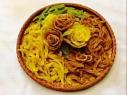 Ẩm thực - Cách làm mứt khoai tây hoa hồng đẹp mắt, dẻo ngon cho ngày Tết