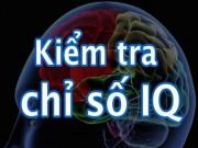 Giáo dục - du học - Bộ 6 câu hỏi kiểm tra chỉ số IQ của bạn