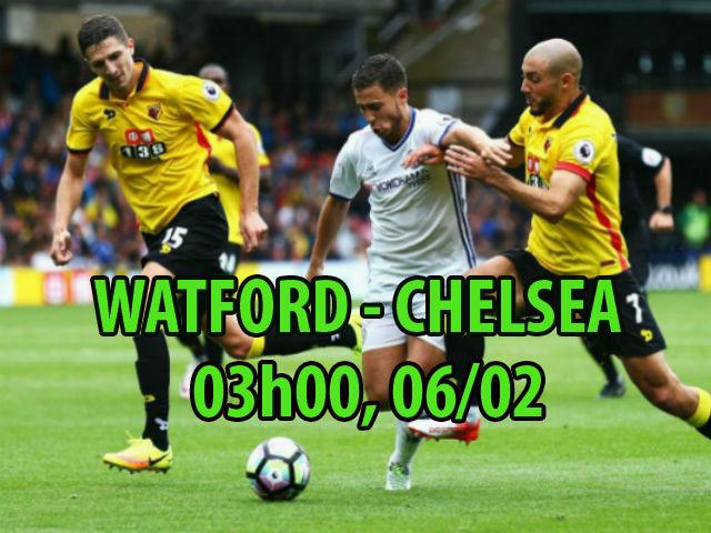 Chi tiết Watford - Chelsea: Bàn thắng dồn dập (KT) 25