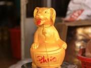 Tin tức trong ngày - Làng gốm tất bật sản xuất...chó vàng tài lộc đón Tết