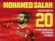 Bóng đá - Salah phá siêu kỷ lục Torres, huyền thoại ca ngợi không kém Messi