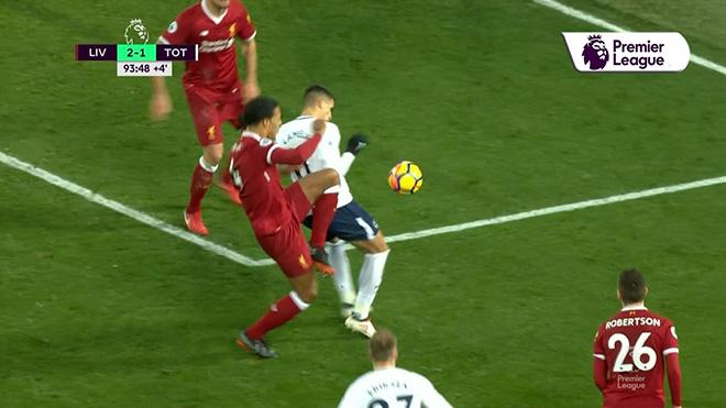 """""""Thảm họa"""" Liverpool - Tottenham: 11m tưởng tượng, suýt """"bẻ còi"""" kiểu V-League 2"""