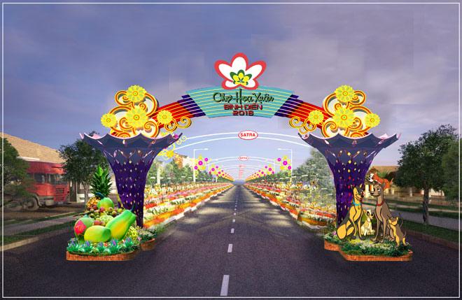 Chợ hoa xuân Bình Điền - Thêm sắc xuân cho khu nam - 2