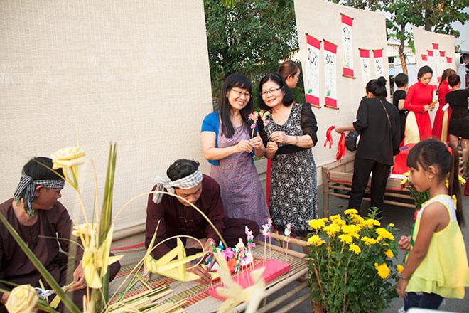 Chợ hoa xuân Bình Điền - Thêm sắc xuân cho khu nam - 5