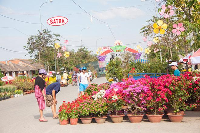 Chợ hoa xuân Bình Điền - Thêm sắc xuân cho khu nam - 6