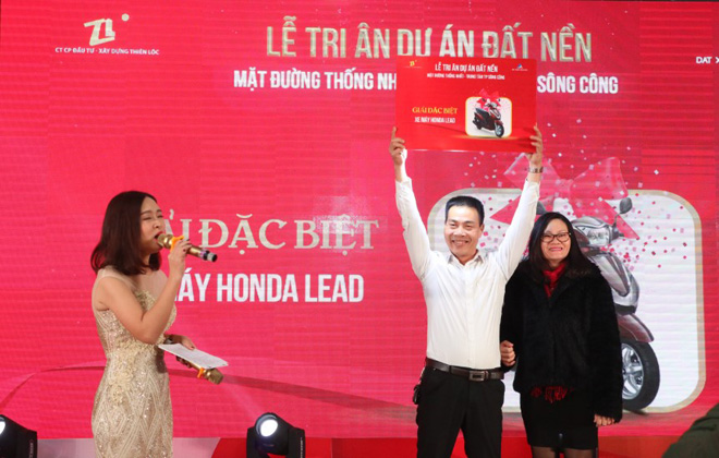Lễ tri ân dự án đất nền Thiên Lộc Thái Nguyên thu hút hàng trăm khách tham dự - 2
