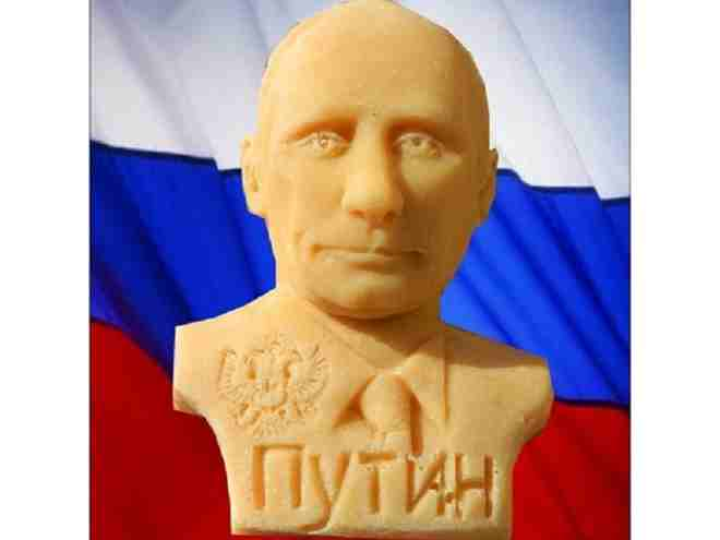Người dân Nga nô nức mua xà bông Putin để tắm chào năm mới - 1