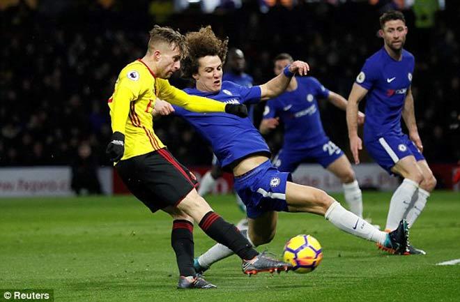 Watford - Chelsea: Thẻ đỏ, phạt đền và đầy ắp siêu phẩm 1