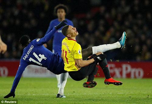 Chi tiết Watford - Chelsea: Bàn thắng dồn dập (KT) 21