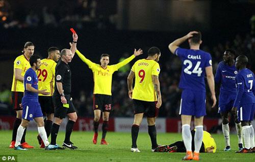 Chi tiết Watford - Chelsea: Bàn thắng dồn dập (KT) 22