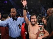 Thể thao - Manny Pacquiao: Từ kẻ nghèo kiết xác tới siêu võ sỹ triệu đô