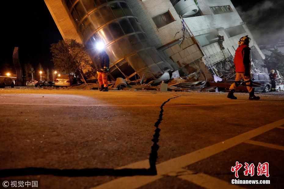 Sao xứ Đài thấp thỏm cầu nguyện vì động đất 6,4 độ riches