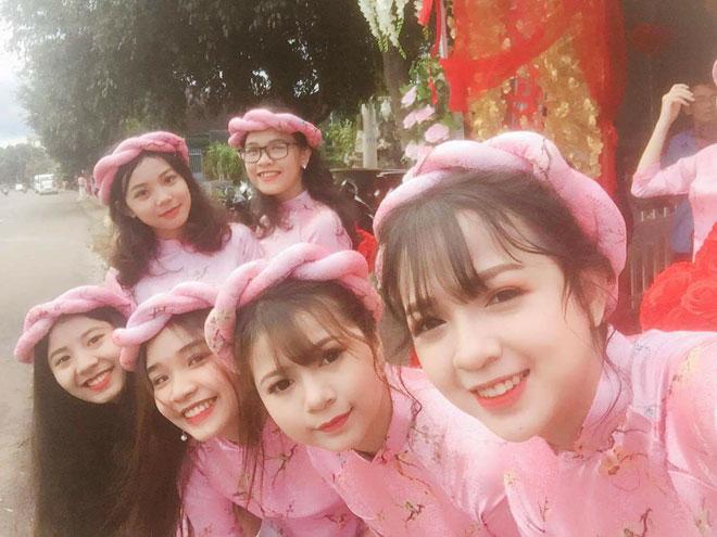 Dàn phù dâu Đắk Lắk đẹp lấn át cô dâu khiến dân mạng ngẩn ngơ - 6