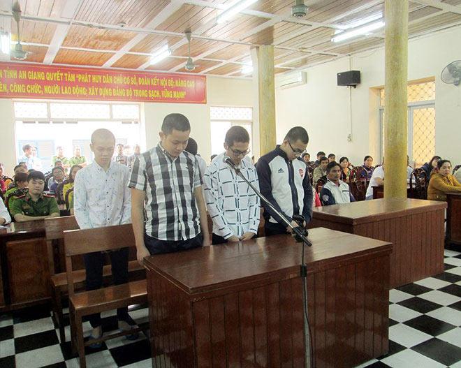 Xâm hại 2 thiếu nữ nhậu say, 6 thanh niên lãnh án