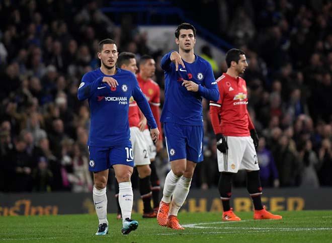 """SAO đại chiến: """"Messi"""" Salah săn bàn gấp đôi Sanchez - Lukaku - Morata 3"""