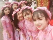 Bạn trẻ - Cuộc sống - Dàn phù dâu Đắk Lắk đẹp lấn át cô dâu khiến dân mạng ngẩn ngơ