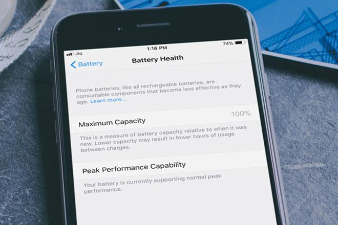 Cách làm chủ và vô hiệu hóa tính năng quản lý pin trên iOS 11.3