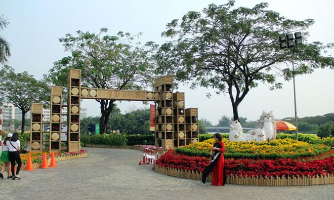 """Hồn quê xuất hiện tại """"khu nhà giàu"""" ở Sài Gòn ngày giáp Tết - 2"""