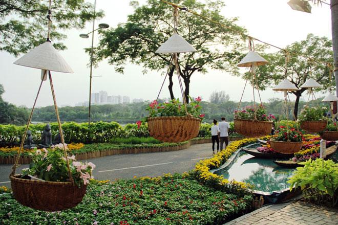 """Hồn quê xuất hiện tại """"khu nhà giàu"""" ở Sài Gòn ngày giáp Tết - 3"""