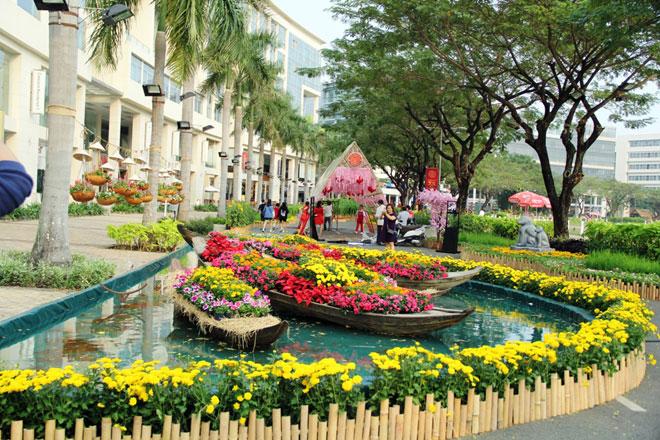 """Hồn quê xuất hiện tại """"khu nhà giàu"""" ở Sài Gòn ngày giáp Tết - 4"""